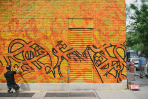 281 Grand - Grafitti Wall
