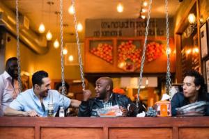 281 Grand - Guys in Restaurant